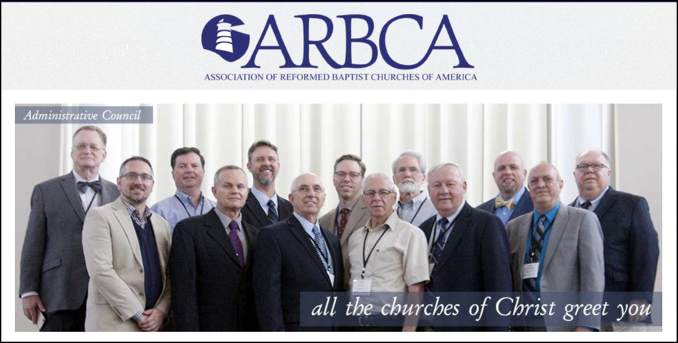 ARBCA org — Awareness in Reformed Baptist Churches of America